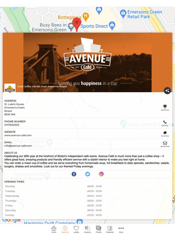 Avenue Cafe screenshot 7