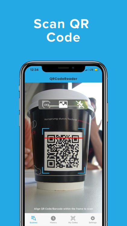 QR Code Reader For iPhone App