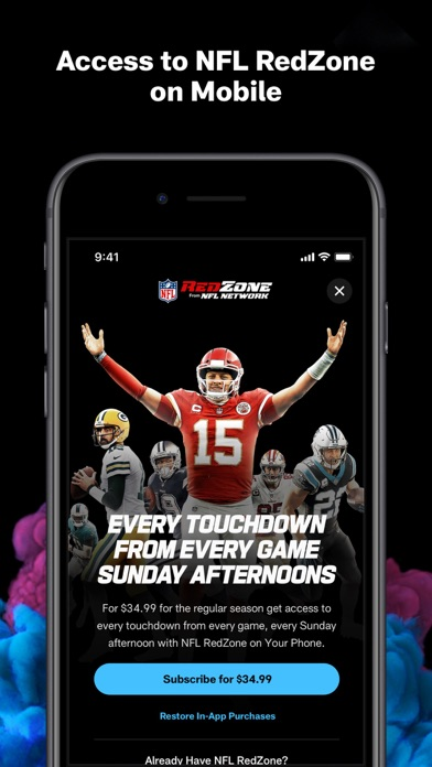 messages.download NFL software