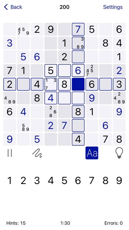 Sudoku: Logic Brain Training screenshot-0