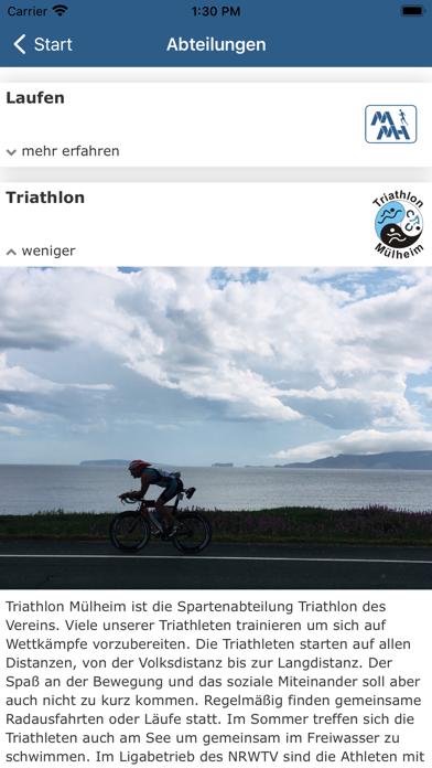 Marathon Triathlon MülheimScreenshot von 5