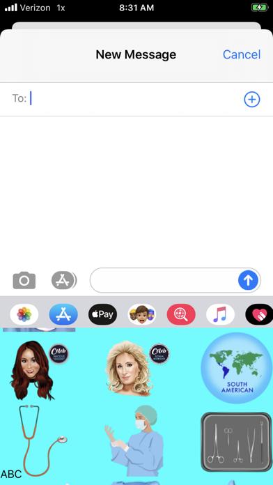 MedemojisCustomKeyboard Screenshot