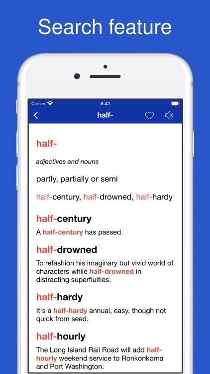 Combining Forms Dictionary screenshot-4