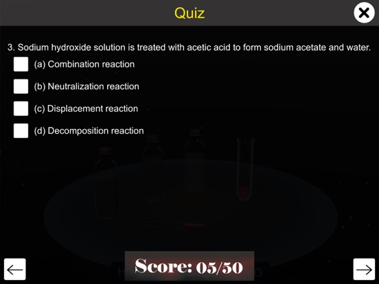 Reaction of Acids with Bases screenshot 14