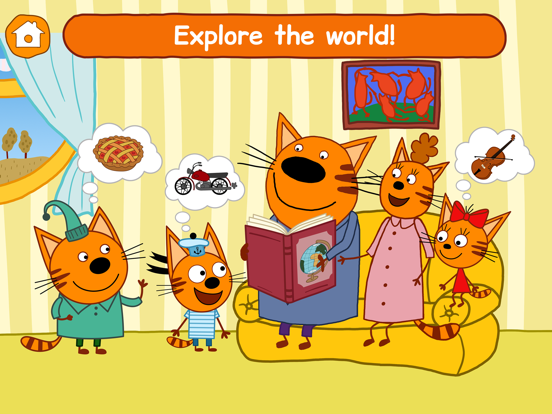 Ipad Screen Shot Kid-E-Cats: Little Kids Games! 2