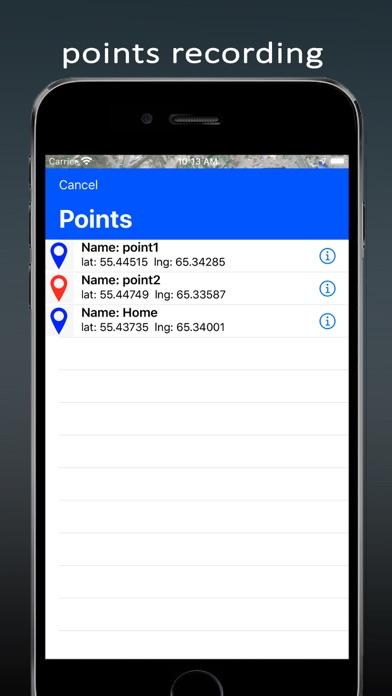Traveler Compass screenshot #4