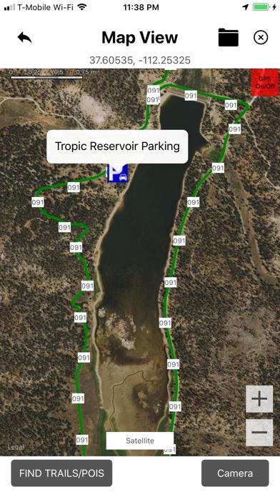Panguitch ATV OHV Trails Screenshot