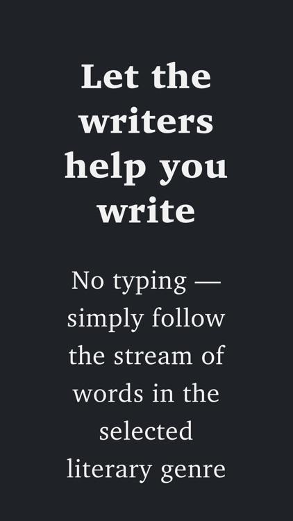 Creative Writer - easy writing