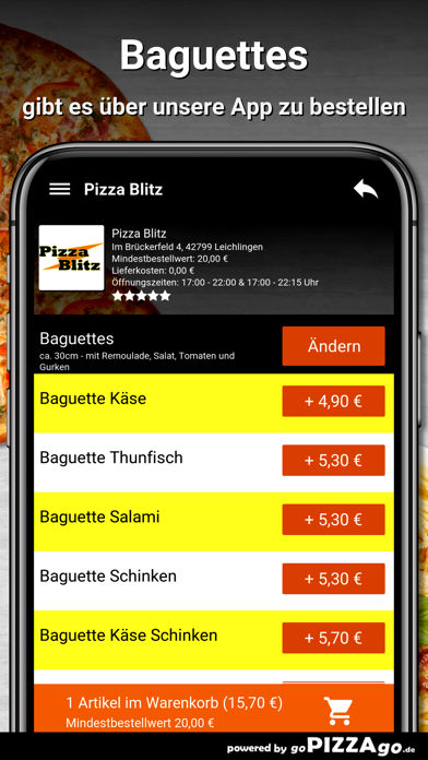 Pizza Blitz Leichlingen screenshot 6