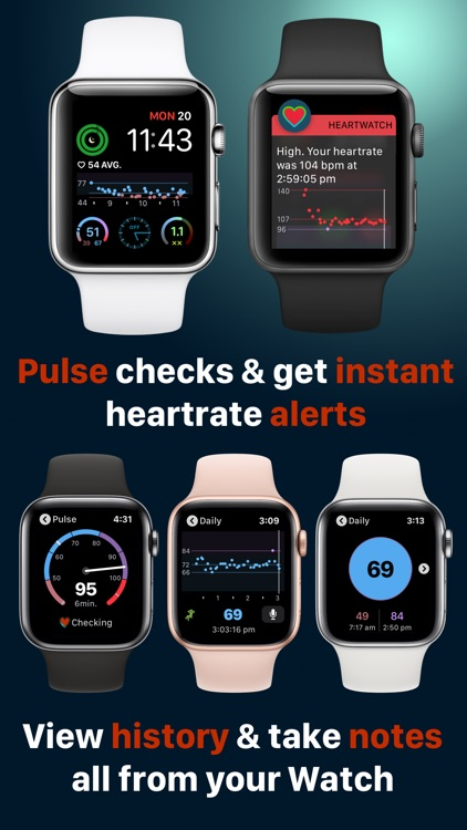 HeartWatch: Monitor Heart Rate screenshot-3