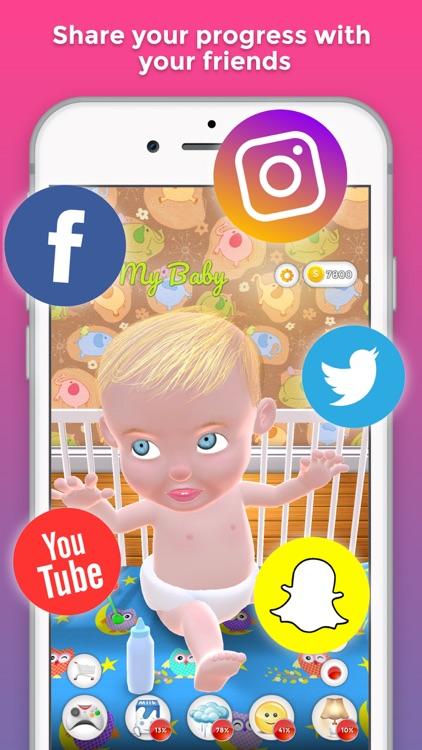 My Baby (Virtual Kid & Baby) screenshot-3