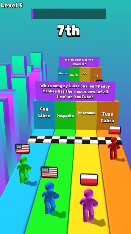 ABC Run - Trivia Racing Fun screenshot-4