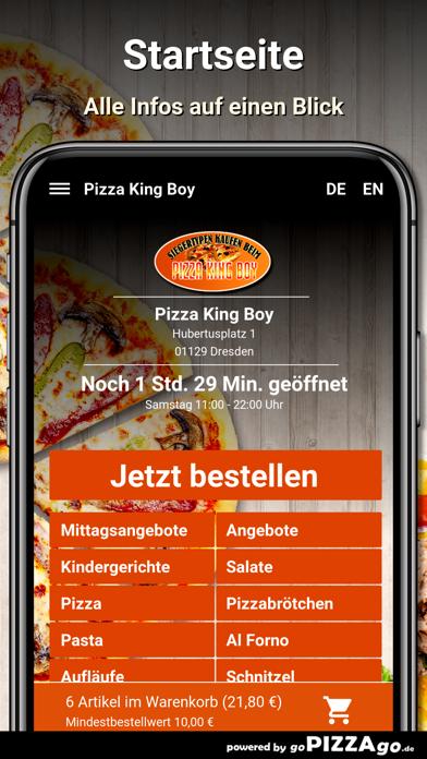 Pizza King Boy Dresden screenshot 2