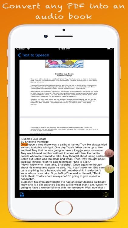 Text to Speech : Text to Voice screenshot-4