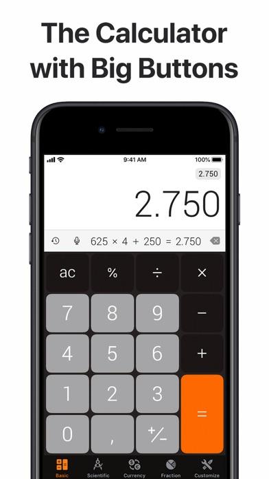 The Calculator screenshot one