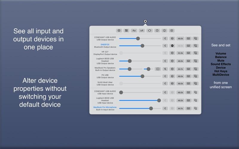 AudioSwitcher Screenshots