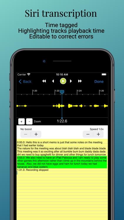 Smart Recorder and transcriber