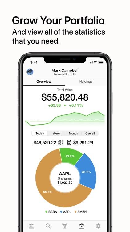 Dream Trade: Stock Market Sim screenshot-3