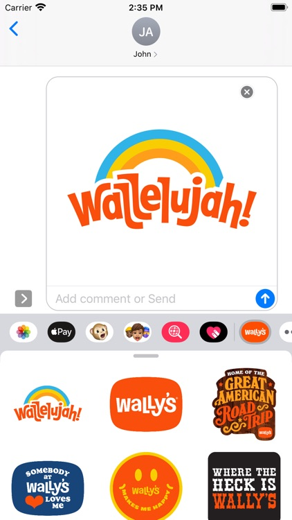 Wally's Stickers
