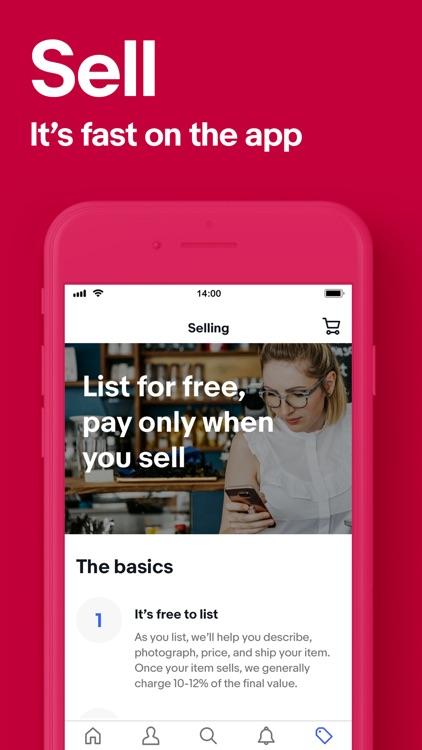 eBay Shopping: Buy, sell, save screenshot-3