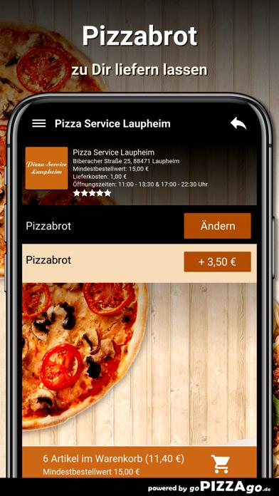 Pizza Service Laupheim screenshot 6
