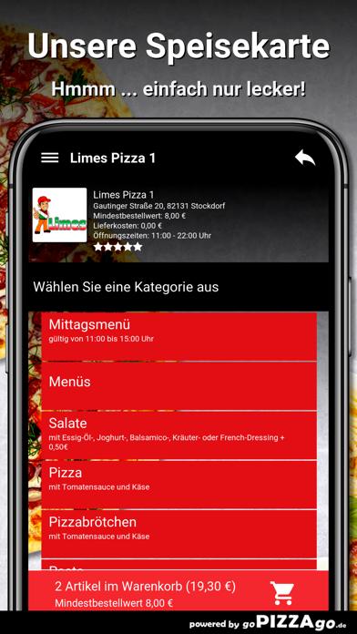 Limes Pizza 1 Stockdorf screenshot 4