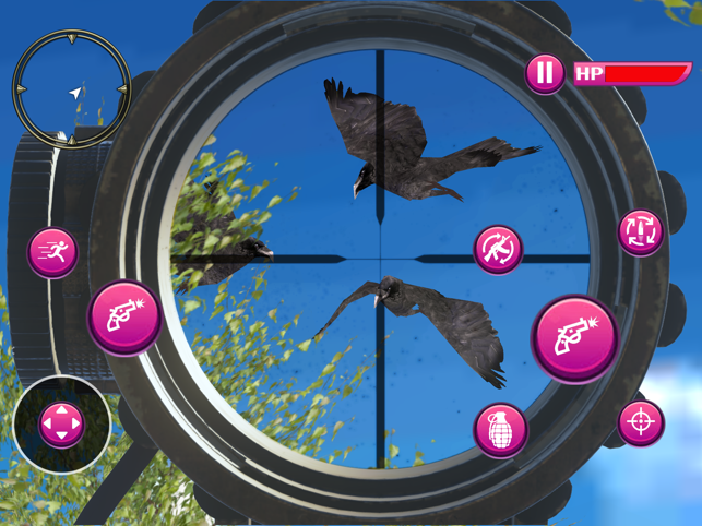 Birds Hunting Adventure, game for IOS