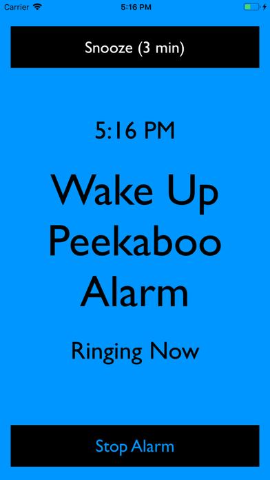 Peekaboo Alarm screenshot 5