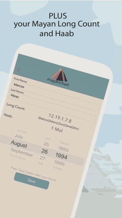 MayanChart - Mayan astrology screenshot-3
