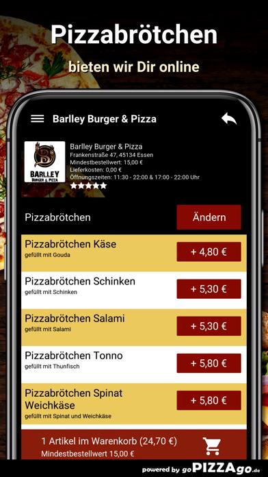 Barlley Burger - Pizza Essen screenshot 5