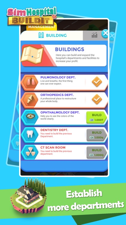 Sim Hospital BuildIt-Idle Game screenshot-4