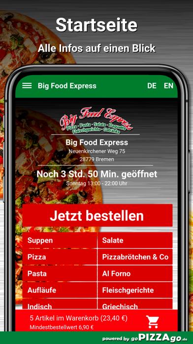 Big Food Express Bremen screenshot 2