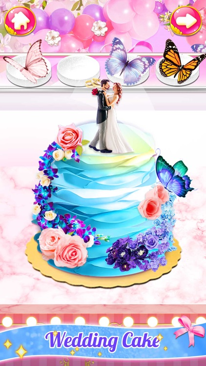 Girl Games:Wedding Cake Baking
