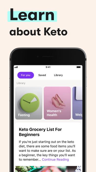 Keto Diet App ダイエット, レシピ, 体重管理のおすすめ画像5