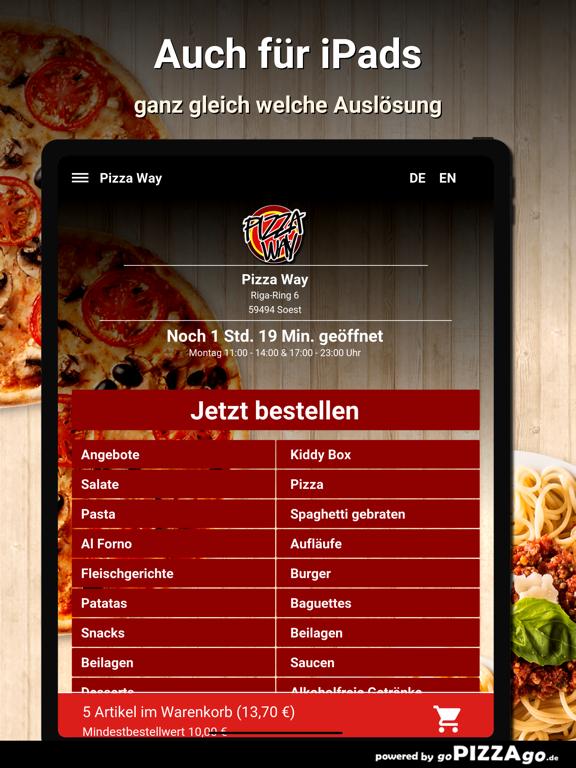 Pizza Way Soest screenshot 7