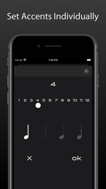 Metronome Touch screenshot-6