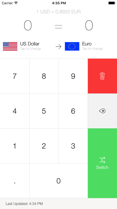 My Currency Converter Pro Screenshot