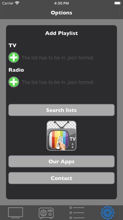 TV App - TV List screenshot-3