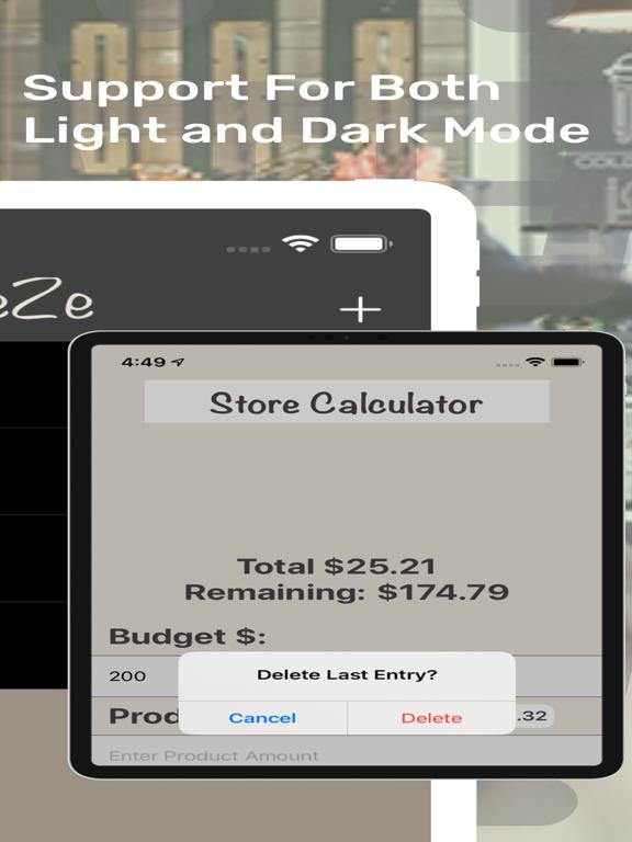 ShopEeZe: Shopping List Calc screenshot 10