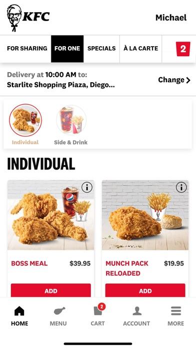 cancel KFC Trinidad and Tobago subscription image 2