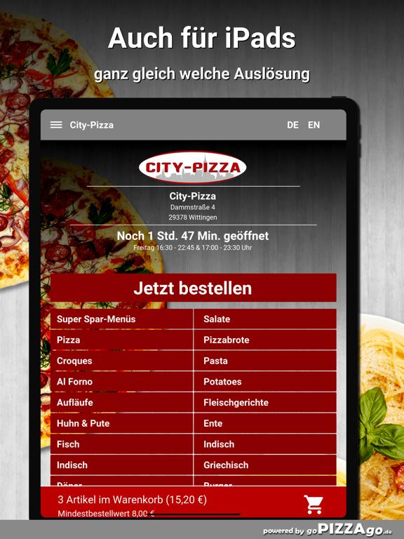 City-Pizza Wittingen screenshot 7