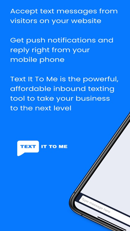 Text It To Me