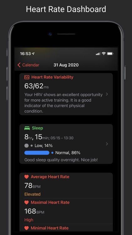CardioBot - Heart Rate Tracker screenshot-1
