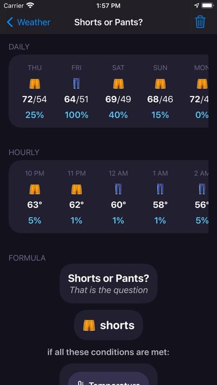 Shorts or Pants?