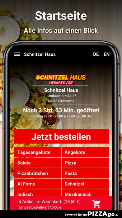 Schnitzel Haus Pirmasens screenshot 2