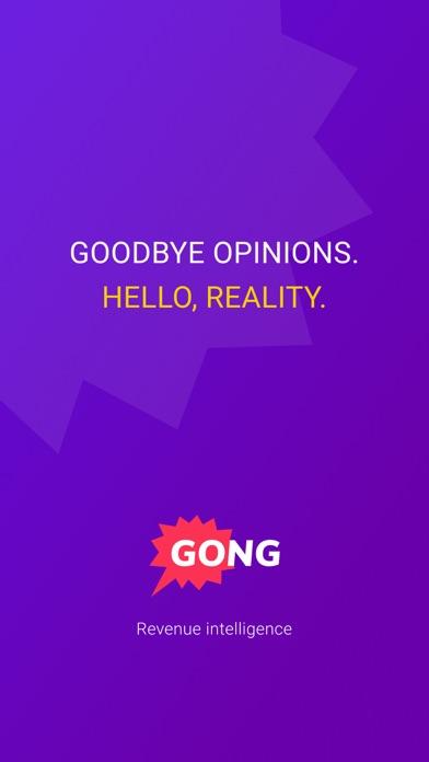 Gong.ioScreenshot of 1