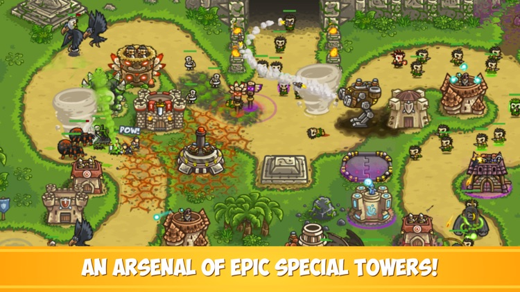 Kingdom Rush Frontiers TD screenshot-3