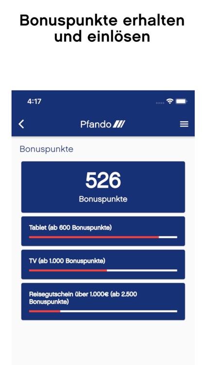 Pfando App screenshot-4