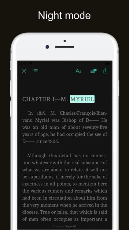 Victor Hugo's works screenshot-4