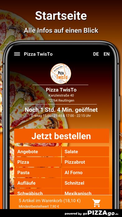 Pizza TwisTo Reutlingen screenshot 2